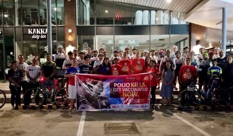 End Polio Ride Cebu 2019